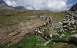 I ragazzi di Giroparchi Nature Trail sui sentieri del Gran Paradiso