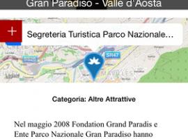 App Valli del Gran Paradiso - Scheda POI