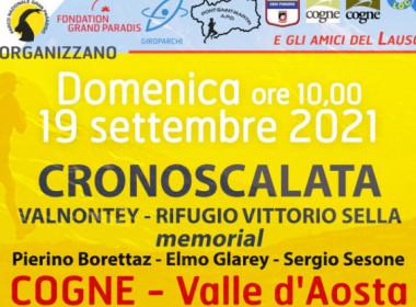 Cronoscalata Valnontey - Rifugio Vittorio Sella