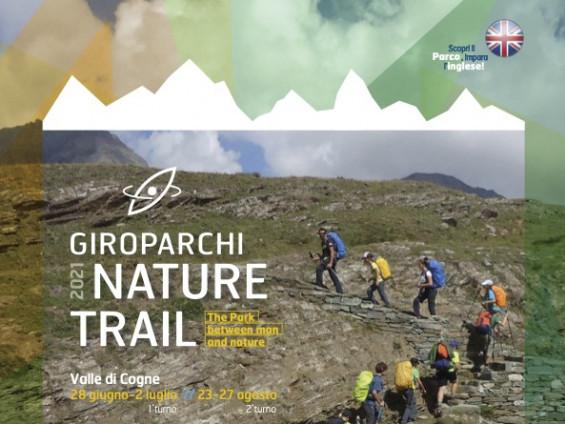 Locandina Giroparchi Nature Trail 2021